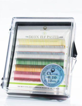 Вії DLUX кольорові Pastel (6 стрічок)