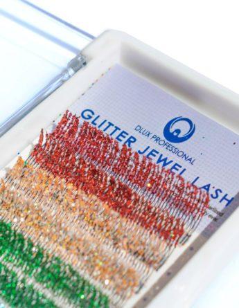 Ресницы DLUX  Glitter (12 лент) 1