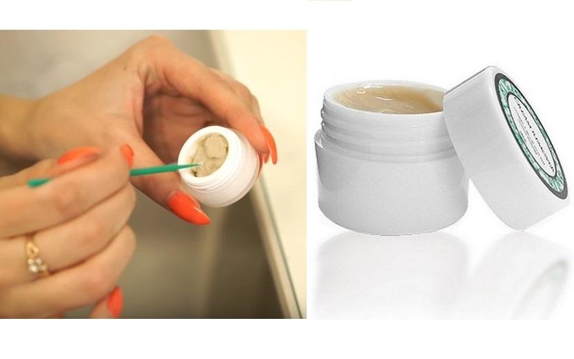 Кремовый ремувер для снятия наращенных ресниц