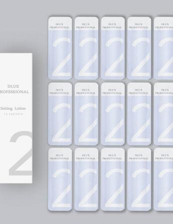 Состав №2 Setting Lotion для ламинирования ресниц в саше, DLUX 1