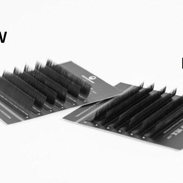 Ресницы Dlux Professional – обзор новых изгибов M и LW