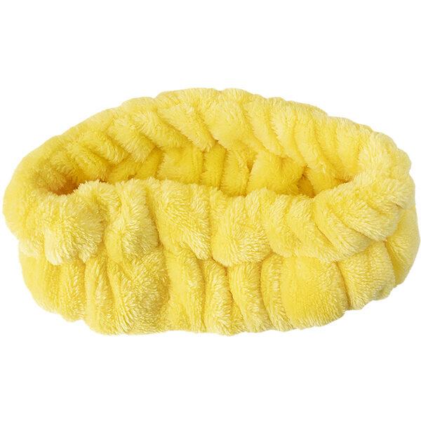 Косметическая повязка для волос на резинке